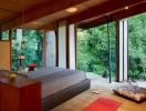 Bài trí phòng ngủ như nơi nghỉ dưỡng theo phong cách Nhật