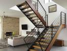 """Cách tính bậc cầu thang và kích thước """"chuẩn"""" khi xây nhà ống"""