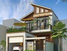 Thiết kế biệt thự 2 tầng hợp phong thủy