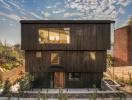Vẻ đẹp lãng mạn của ngôi nhà ốp gỗ ở Los Angeles