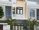 Tư vấn thiết kế nhà 3 tầng đủ tiện nghi, chi phí 750 triệu