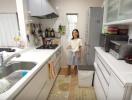 Khám phá căn bếp nhỏ với tiện nghi thông minh của người Nhật