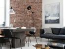 Ngôi nhà đơn sắc với phong cách nội thất công nghiệp
