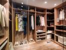 Thiết kế tủ quần áo phòng thay đồ hoàn hảo cho những tín đồ thời trang