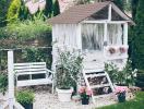 Khu vườn đẹp như mơ khiến bạn nghĩ thiên đường là có thực