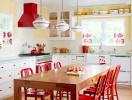 Những mẫu phòng bếp màu pastel làm siêu lòng chị em