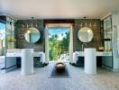 5 thiết kế phòng tắm có tầm nhìn tuyệt đẹp