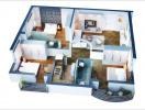 9 mẫu căn hộ 3 phòng ngủ đẹp cho gia đình đông người