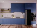 6 xu hướng phối màu tủ bếp ấn tượng mà không lo lỗi mốt (phần 2)