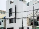 Ngôi nhà đẹp sắc sảo ở Gò Vấp, diện tích chỉ 27m2