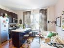 Mẫu căn hộ 30m2 đẹp nhẹ nhàng và tiện nghi