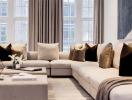 Áp dụng nguyên tắc vàng khi trang trí phòng khách
