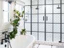 Những mẫu phòng tắm với không gian thư giãn tuyệt vời