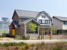 Ngôi nhà nhỏ xinh xắn ở vùng ngoại ô Hàn Quốc