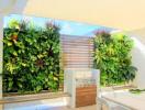 Những kiểu vườn đứng phù hợp không gian nhà nhỏ