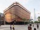 Tòa nhà có mặt tiền liên tục chuyển động ở Thượng Hải
