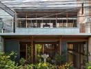 Ngôi nhà làm từ tôn đẹp dung dị giữa đất trời Châu Đốc