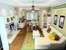 Lưu ý khi thiết kế phòng khách liền kề với bếp