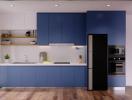 Nên chọn bề mặt bóng gương, lì, satin hay vân gỗ cho tủ bếp? (phần 2)