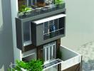 Tư vấn thiết kế nhà 3 tầng đơn giản, hiện đại với chi phí 688 triệu