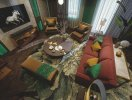 Thiết kế phòng khách theo phong cách thượng lưu