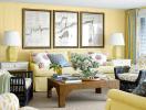 Treo tranh phong thủy trong phòng khách cần lưu ý những gì?