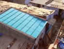 Mái nhà chống cháy siêu bền làm từ rác thải tái chế