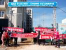 Người dân vây công trường dự án chung cư Aranya đòi giao nhà