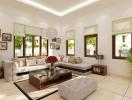 4 bước mang đến vẻ hoàn hảo cho nội thất phòng khách