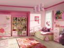Gợi ý trang trí phòng ngủ của bé gái cực dễ thương