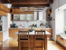 Ý tưởng bố trí thông minh cho căn bếp nhỏ luôn thông thoáng