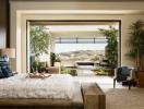 Trang trí phòng ngủ đẹp hiện đại, thư giãn bằng cây xanh