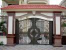 Một số nguyên tắc khi thiết kế cánh cổng nhà bằng sắt