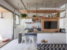 Độc đáo căn hộ 65m2 phong cách Scandinavia tối giản