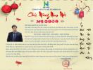 Hong Ha Real gửi thư chúc Tết Quý đối tác, khách hàng