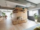 Sắp xếp nội thất hợp lý giúp căn hộ nhỏ như rộng gấp đôi