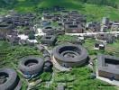 Những ngôi nhà bằng đất nện từ thế kỷ 15 tại Trung Quốc