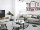 Cách chọn bàn thông minh cho phòng khách nhỏ hẹp