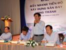 Đẩy mạnh xây dựng đô thị sân bay tại Long Thành