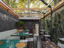 Ghé thăm không gian xanh mát trong nhà hàng ở Mexico City