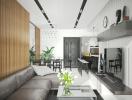 Thiết kế nội thất ấn tượng của dự án Green Star Sky Garden