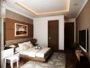 Bí quyết thiết kế nội thất phòng ngủ trong căn hộ chung cư
