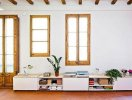 Căn hộ 70m2 rộng rãi và thanh lịch nhờ sử dụng nội thất sáng tạo