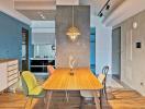 Vẻ đẹp lôi cuốn của căn hộ nhỏ trang trí theo phong cách Retro