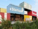 Khu văn phòng container dành riêng cho startup ở Hà Lan