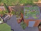 """Những khu vườn trên mái khiến """"vạn người mê"""""""