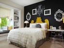 Sáng tạo trong trang trí phòng ngủ với bảng đen