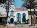 Ngôi nhà 2 tầng được thiết kế như lâu đài nhỏ tại Đà Nẵng