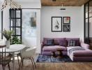 Tận dụng không gian khéo léo, căn hộ nhỏ vẫn rộng và đẹp như mơ
