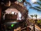 Cabin tre đẹp ảo diệu trên bãi biển Mexico